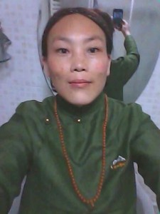 Sangyal Tso died of self-immolation on 27 May 2015.
