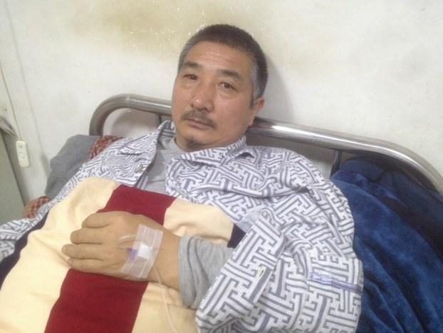 Jigme Gyatso aka Jigme Guri admitted in Sangchu County People's hospital