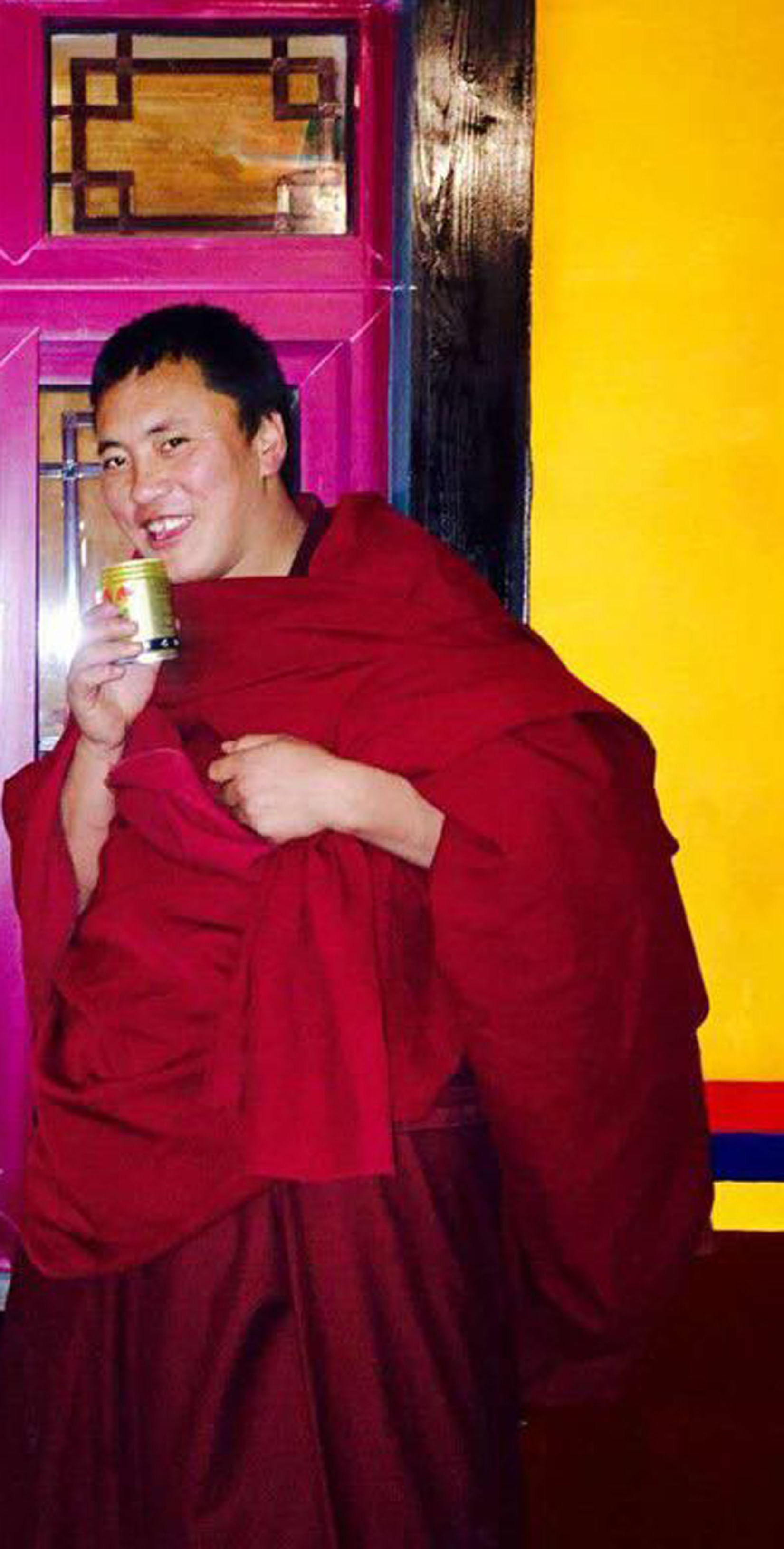 Lobsang Gephel was given 12 years prison term