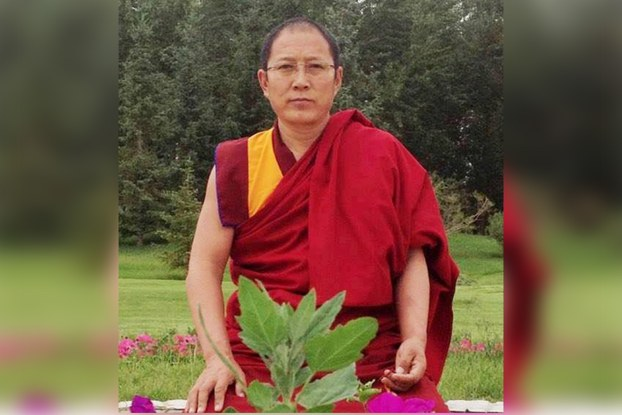 Venerable Jigme Lodoe, former discipline master at Rongwo Monastery (Photo: RFA)