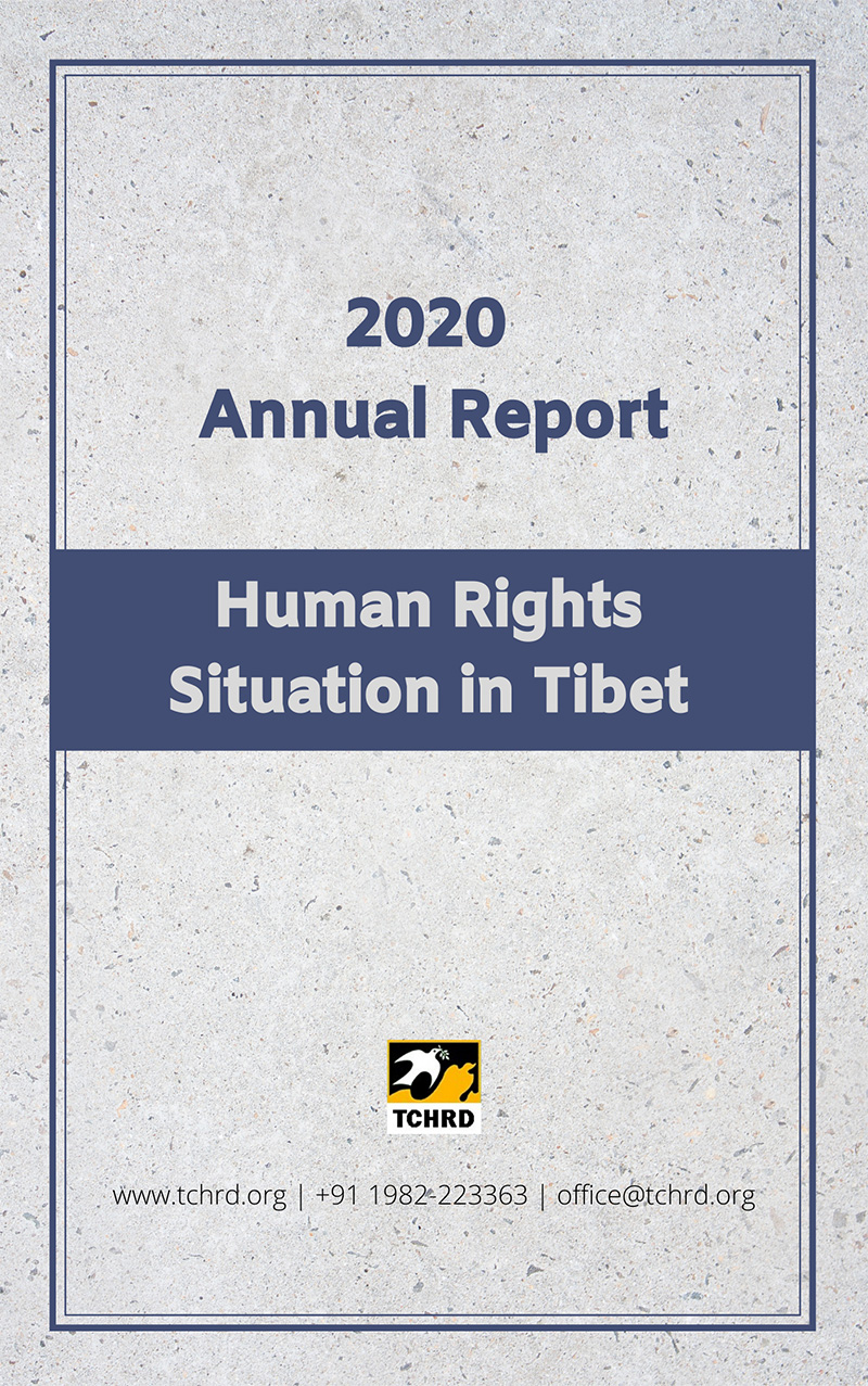TCHRD Annual Report 2020 released on 26 April 2021.
